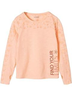20e80a0b5a61f Vertbaudet T-Shirt Fille Motifs Fruits Sequins géants et Broderies ...