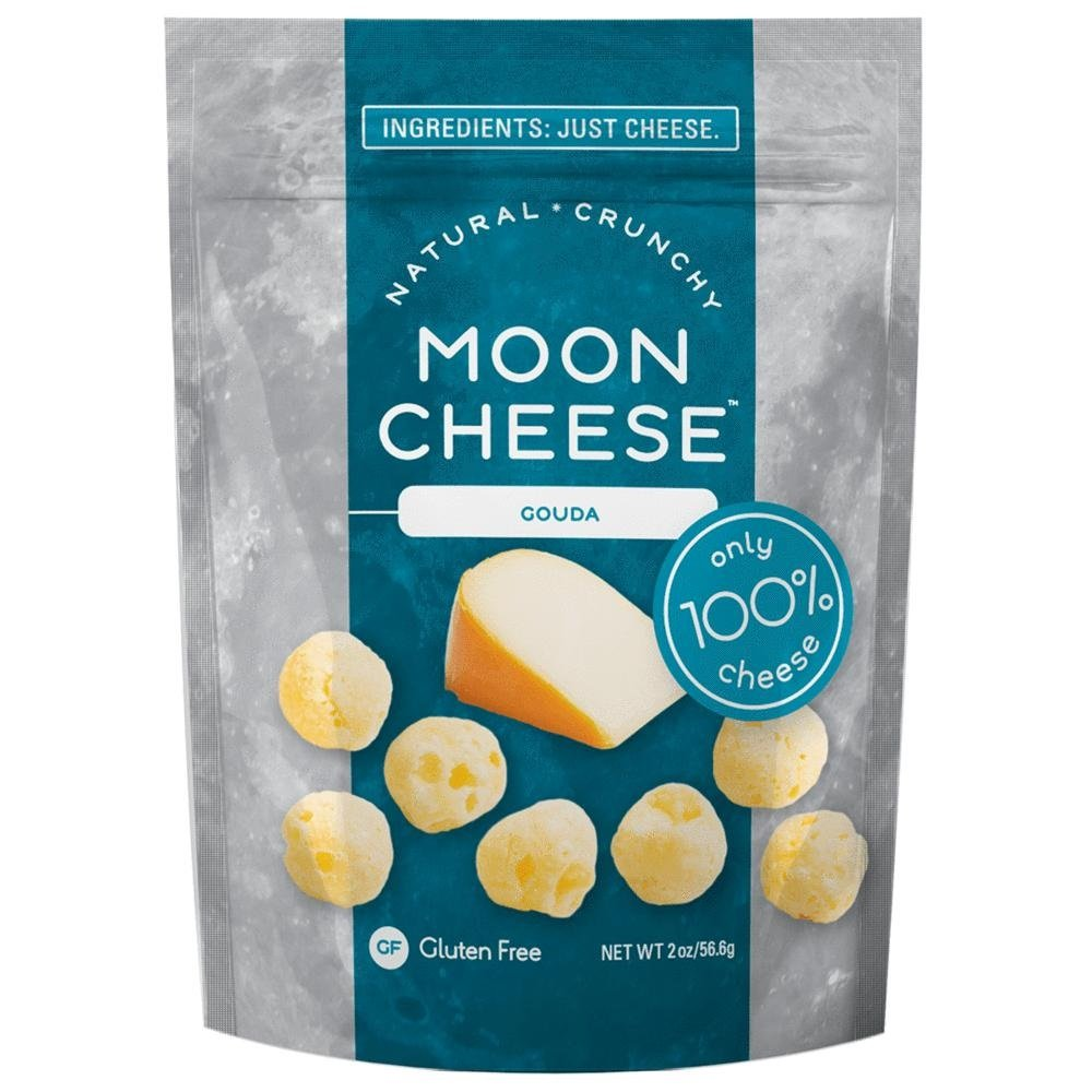 Moon Cheese, Gouda, 2 oz Bag (Pack of 12)
