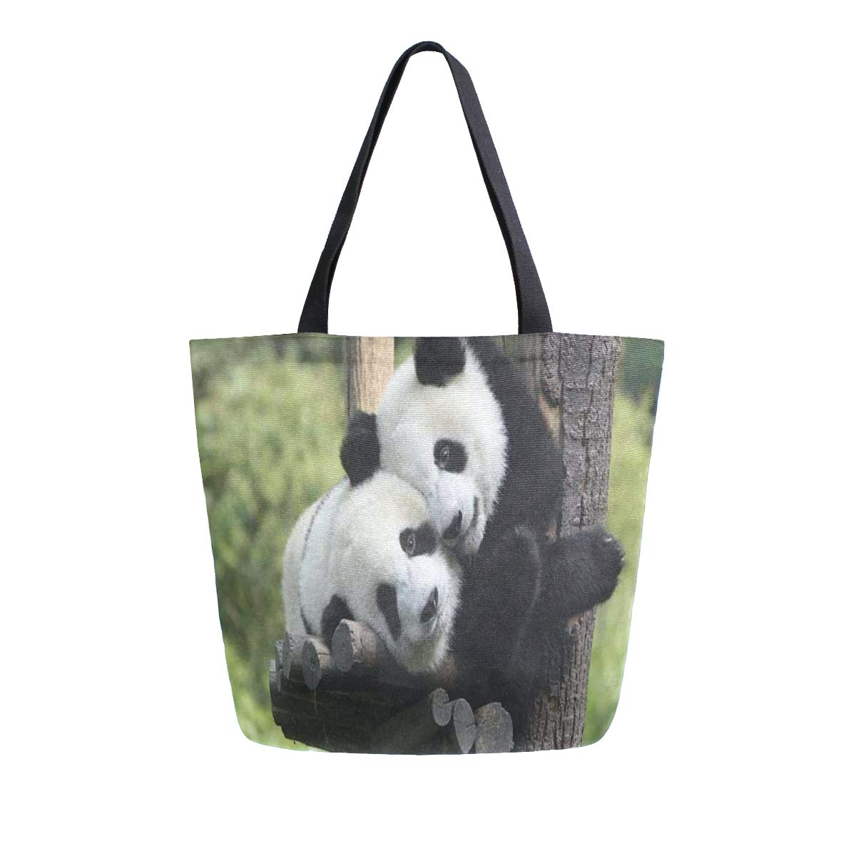 Canvas Tote Bag Giant Panda...