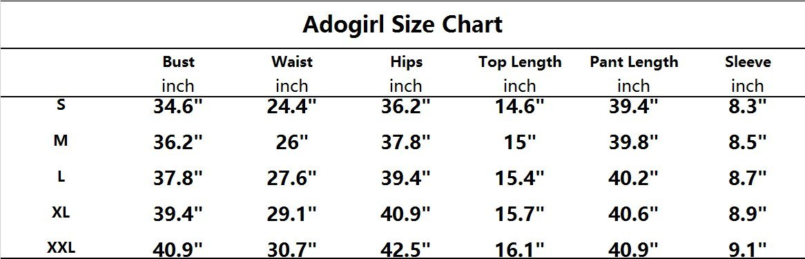 Adogirl Womens Short Sleeve Stripe Print Ruffle Crop Top Skinny Pants 2 Pieces Outfits Jumpsuit Yellow XL by Adogirl (Image #2)