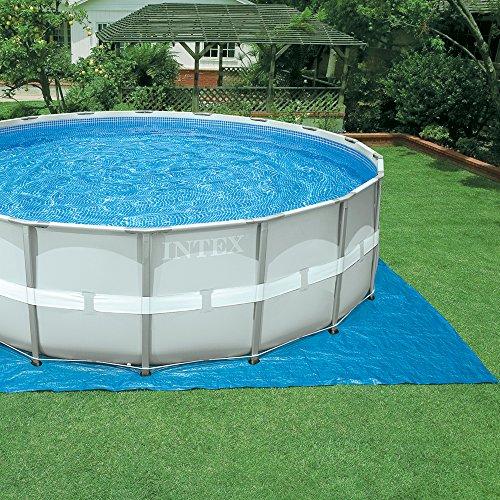 Intex Ultra Frame - Piscina desmontable, 488 x 122 cm, con depuradora y complementos (28324NP): Amazon.es: Jardín