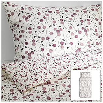 Amazon Com Ikea Majviva Duvet Cover And Pillowcases Twin