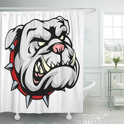 Amazon Emvency Shower Curtain 72x78 Inch Home Decor Mascot Mean