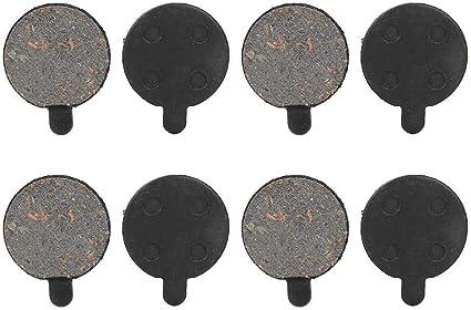 1 paire de plaquettes de frein à disque de vélo semi-métallique de