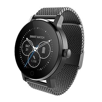 OOLIFENG Reloj inteligente Relojes inteligentes Bluetooth Monitor de pulso cardiaco Podómetro deportivo Reloj de pulsera para Android IOS Teléfono ...