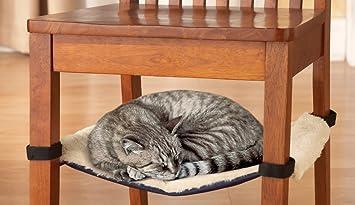 cat hammock under chair cat bed amazon    cat hammock under chair cat bed  health  u0026 personal care  rh   amazon