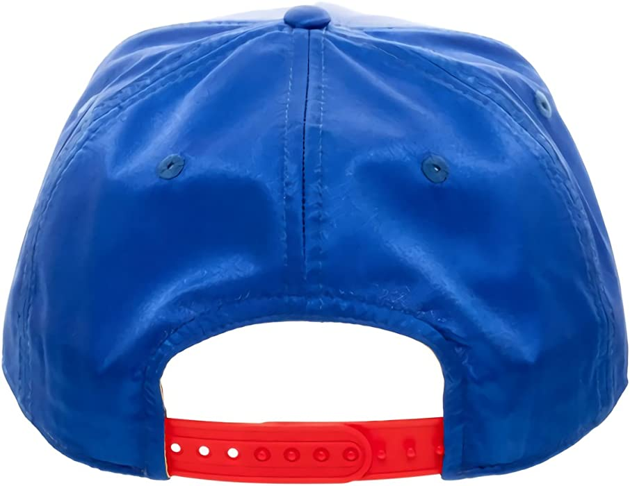 san francisco 2afc2 f02f8 DC Comics Wonder Woman Satin Snapback Baseball Hat Blue. DC Comics Wonder  Woman Satin Snapback Baseball Hat Blue