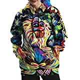 Kindred Stree Style Long Sleeve Baseball Jacket 3D Printed Colored ApeHoodie Sweatshirts (4)