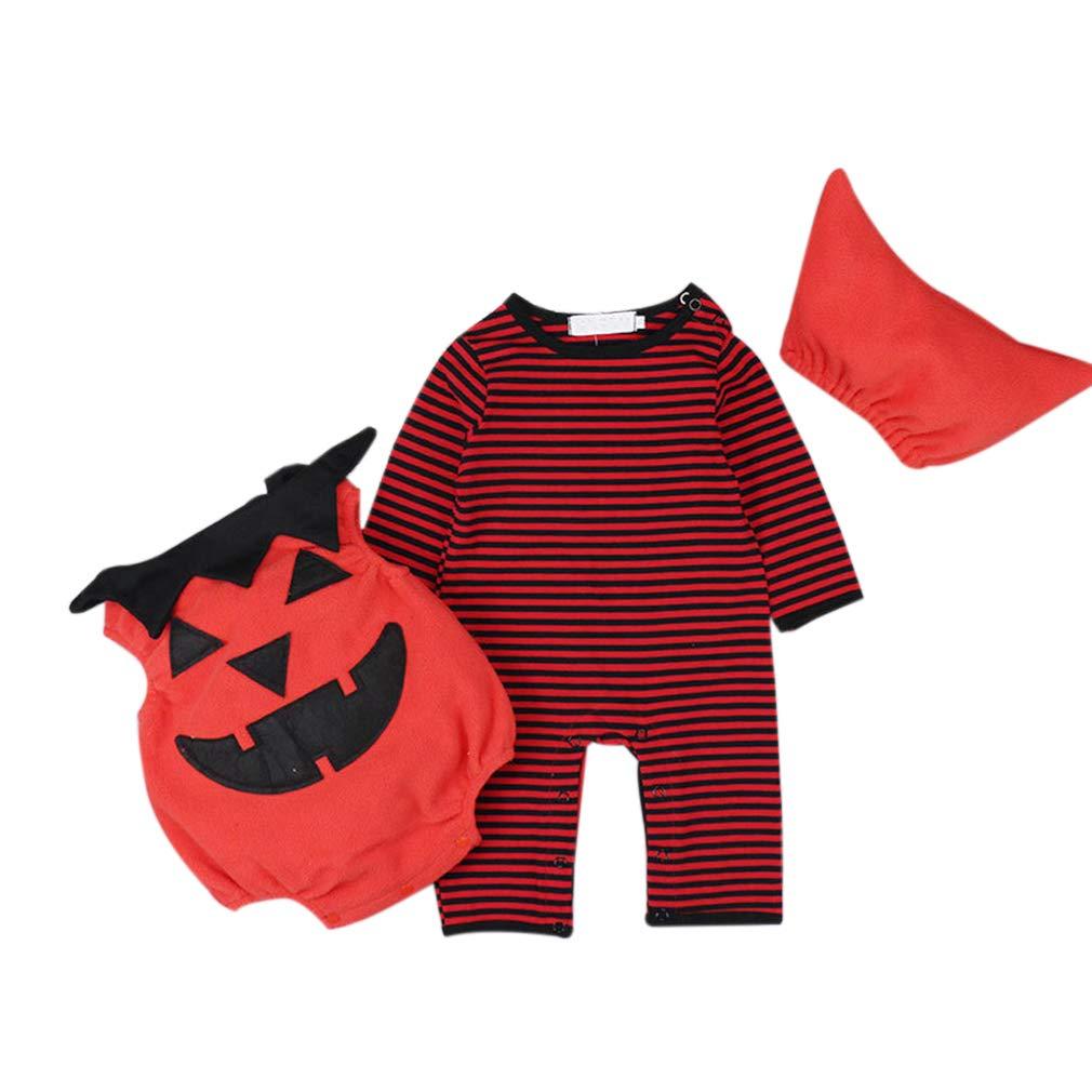 zhxinashu Infante Halloween Costumi Bambino Pagliaccetto - Tuta di Cotone Neonato Abiti Body Carino Electronicproducts clothing gardeningproducts