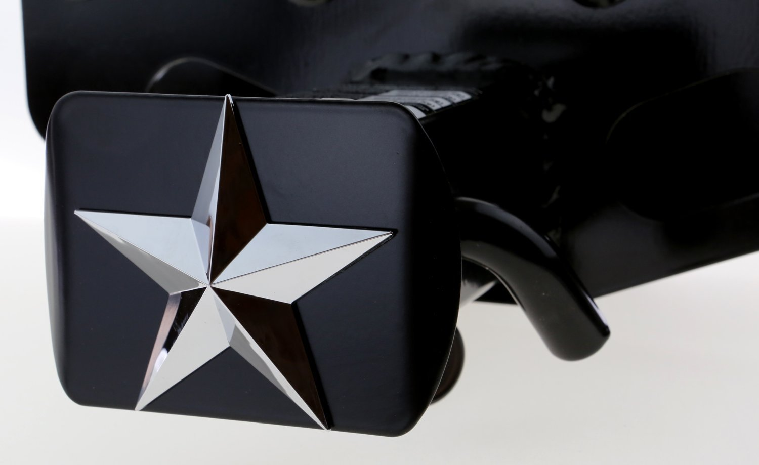 Texas Lone Star 3D Chrome Emblem Trailer Metal Hitch Cover Fits 2 Receivers New bparts