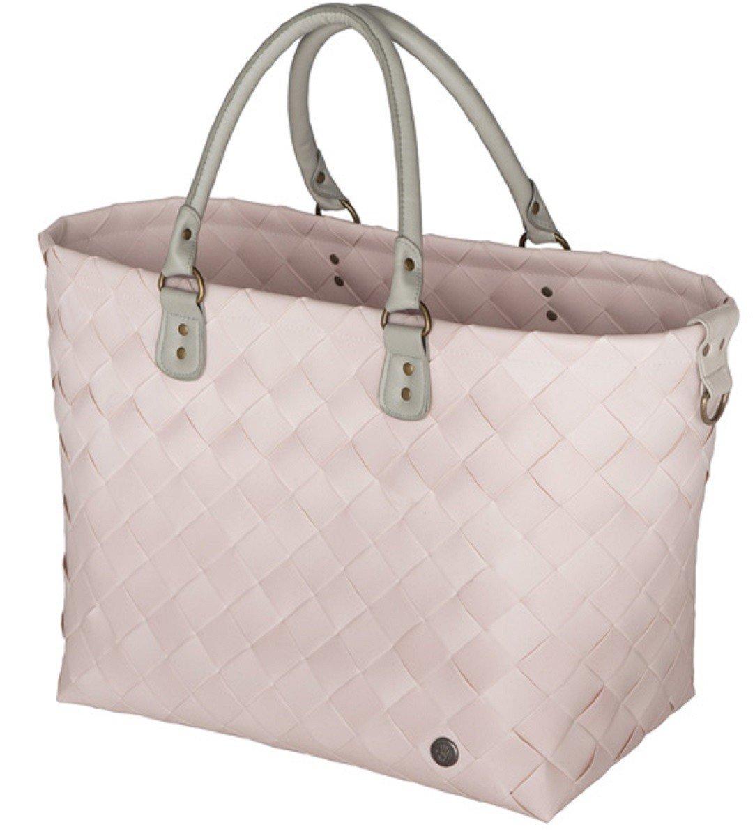 Handed By - Shopper Tasche - Einkaufskorb - Reisetasche - Saint-Tropez - Farbe: Nude - 36 x 43 x 24 cm - XL BFC499700