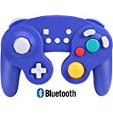Exlene Wireless Gamecube Controller Switch, Compatible with Nintendo Switch and PC, Rechargeable, Motion Controls, Rumble, Tu