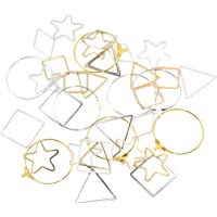 Lovoski 36 Pieces Simple Geometric Earring Findings for Women Girls Fashion Jewelry for Valentine Day Gifts