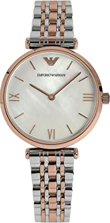 9c0c6161812d Dame Uhr ARMANI GIANNI T-BAR AR1683  Amazon.de  Uhren