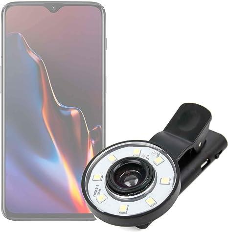 DURAGADGET Flash Selfie para Smartphone OnePlus 6T: Amazon.es ...