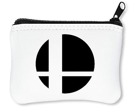 Super Smash Bros Logo Billetera con Cremallera Monedero ...