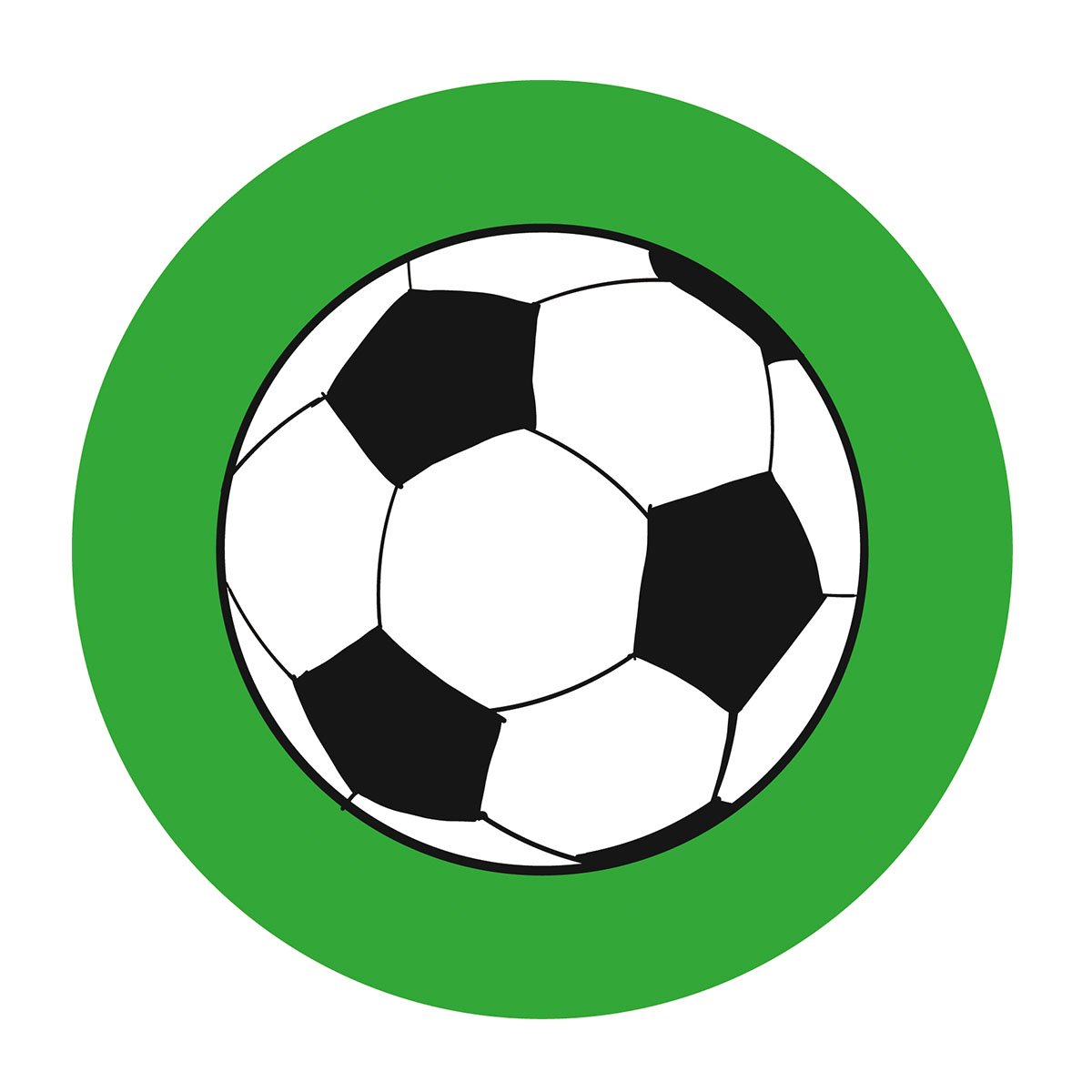 Amazon.com: 2 Inch Soccer Stickers, Futbol Themed Baby Shower ...