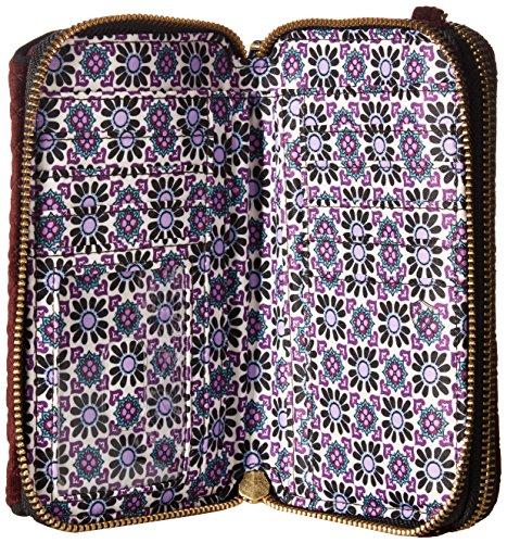 Vera In All RFID Bradley Iconic Velvet One Chocolate Raisin Crossbody 1w1qH6B