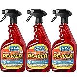 Splash Red Hot De-icer Windshield Trigger Spray 32 Ounces (Pack of 3)