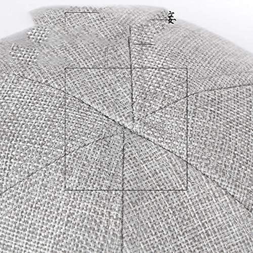 野球帽 キャスケット メンズ ハット ゴルフ ポリエステル 日よけ 調整可能 無地 ハンチング 55-60cm LWQJP (Color : 5, Size : Free size)