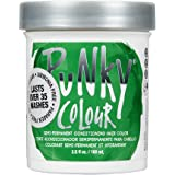 Punky Apple Green Semi Permanent Conditioning Hair Color, Non-Damaging Hair Dye, Vegan, PPD and Paraben Free, Transforms to V