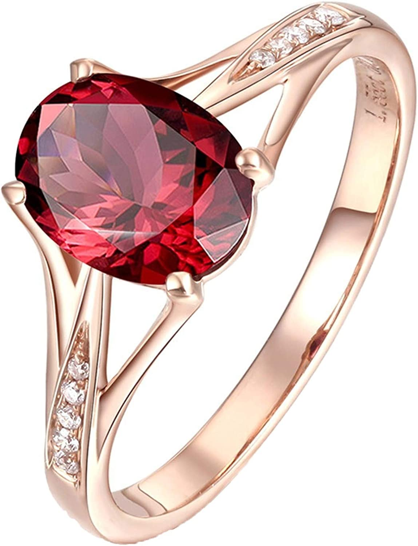 Details about  /2.30 Ct Round Red Garnet Bridal Ring Set Ladies 14K Black Gold Over Wedding Band