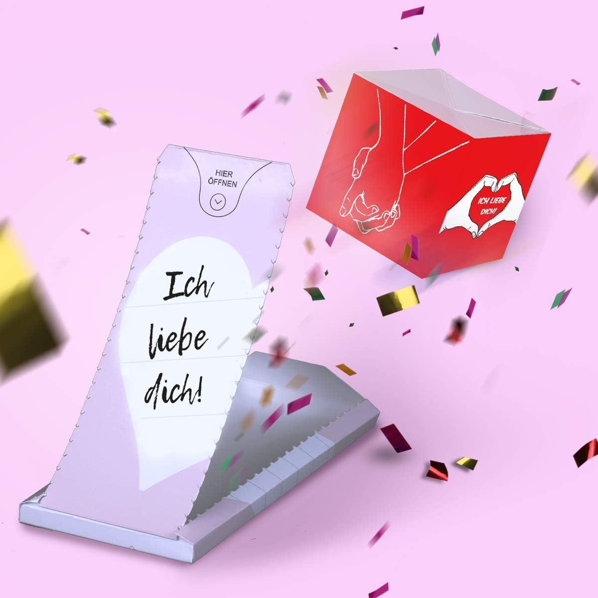 Ich liebe Dich /«BOOM!/» Gru/ßkarte