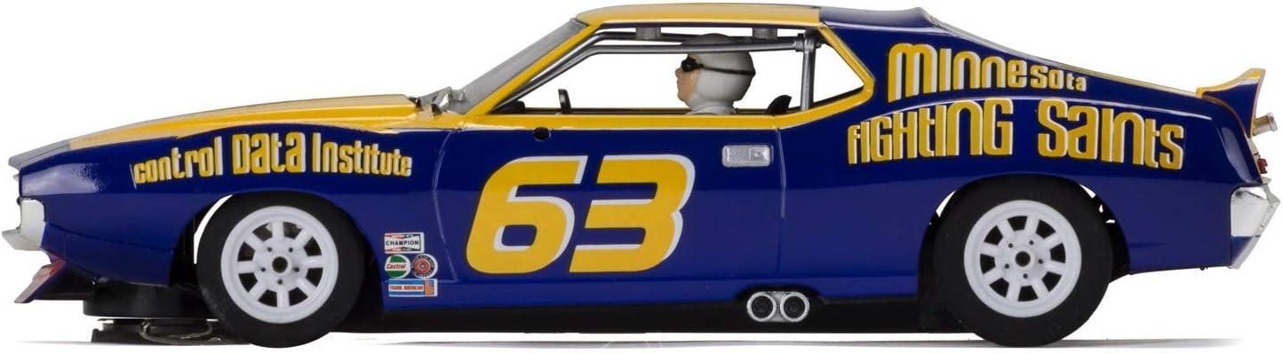 Scalextric AMC Javelin Trans Am Jockos Racing Minnesota Fighting Saints 1:32 Slot Race Car C3876