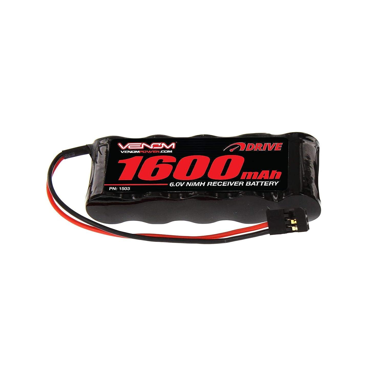 Venom 6V 1600Mah Nimh Flat Receiver Battery -1503   B000RRQPJG