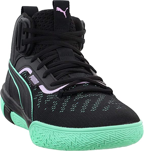 PUMA Mens Legacy Dark Mode Basketball Casual Shoes