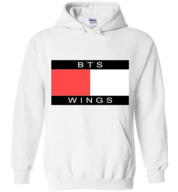 Hombre The Incredible BTS Fashion BTS Wings Hoodie/Sudaderas con Capuchas Sweatshirts RM Jin Suga J-Hope Jimin V Jungkook: Amazon.es: Ropa y accesorios