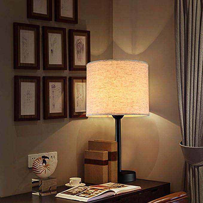 Amazon.com: GL-62027, Lámpara de Mesa Nórdica Simple Luz ...