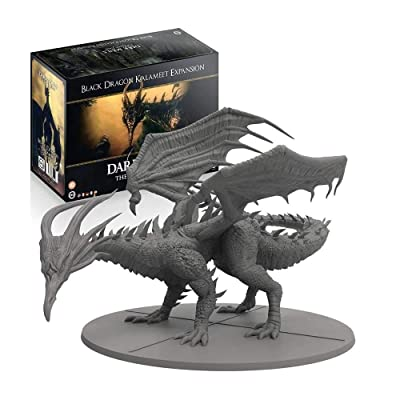 Steamforged Games Dark Souls: The Board Game: Wave 2: Black Dragon Kalameet, Brown: Toys & Games