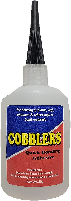 Cobblers Quick Bonding Adhesive Super Glue 2 Oz.