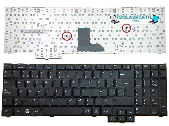 Teclado para PORTATIL Samsung NP-R540-JS03ES EN ESPAÑOL Negro Nuevo SP: Amazon.es: Electrónica