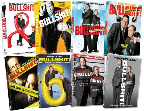Penn & Teller:  Bullshit!:  Eight Season Pack by Paramount Home Entertainment