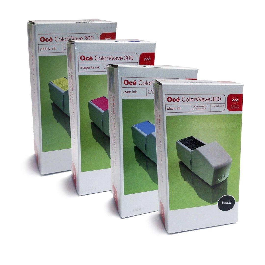 OCE ColorWave 300 1060091360, 1060091361, 1060091362, 1060091363 4-Pack Ink Cartridges Original Genuine