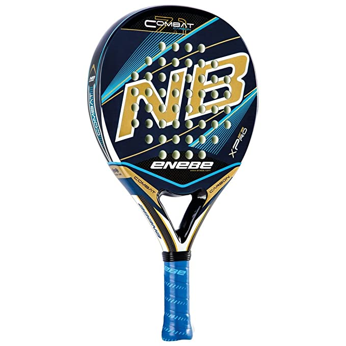 Pala de Pádel Enebe Combat Carbon 7.1 Blue c/Funda: Amazon ...