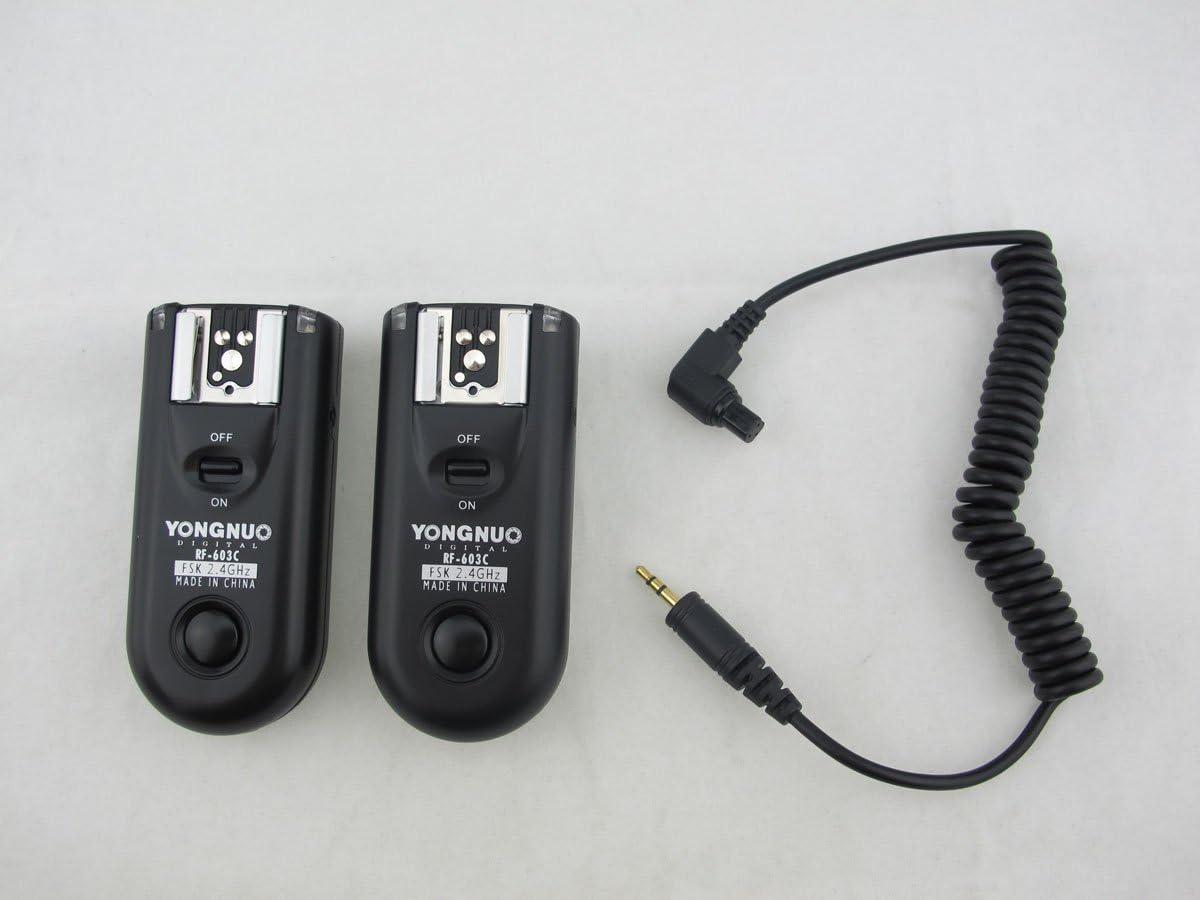 YONGNUO MC-36R C3 Wireless Timer Remote for Canon 7D 5D II 1D 1Ds 50D 40D 30D 6D
