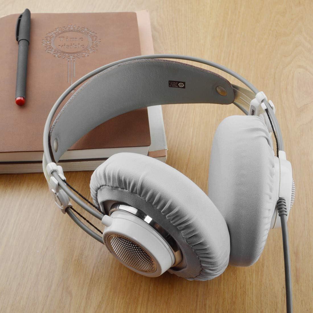 K612Pro K701 K872 K240 K121 Headphone Earcup Covers//Stretchable and Washable Sanitary Earpad Protectors K99 Grey 2 Pairs Linkidea Earpad Covers for AKG K712 K550 K601 K702 K553