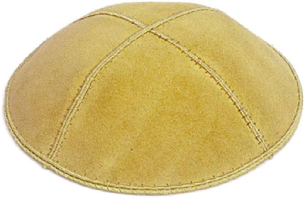 A1 Skullcap Suede Fabric Kippot Single or Bulk Kippah Optional Custom Imprinting Inside for Your Speacial Event /…