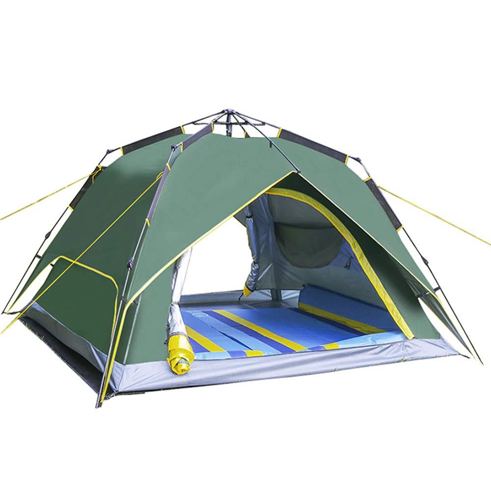 ROOKLY Outdoor Pop Up Kuppelzelt Wurfzelt 6 Personen Zelt Camping Festival 255 X 245 X 165 cm