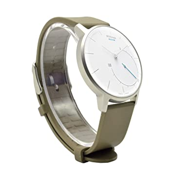 VICARA 18mm Withings Activité Steel HR 36mm Bracelets de Montres Imperméable Réglable Silicone Remplacement Bande Pour