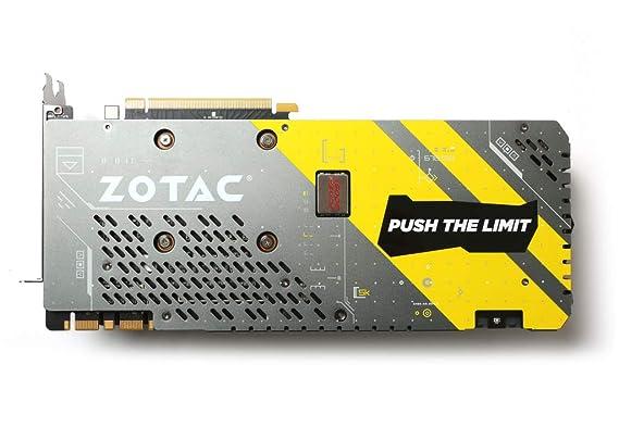 ZOTAC GeForce GTX 1070 AMP! Extreme Core 8GB GDDR5X - Tarjeta ...