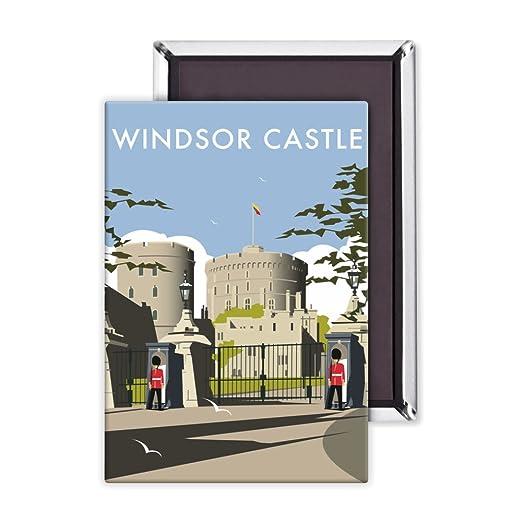 El Castillo De Windsor - 3 x 2 pulgadas imán para nevera - tamaño ...