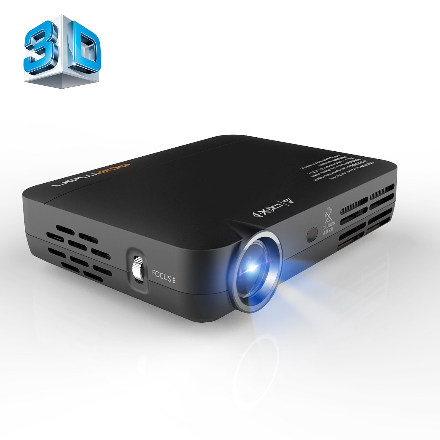 Apeman 3d projector dlp 1080p hd led pico projector for Hd pico projector