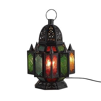 Lámpara de escritorio del faro E27 Linterna de color ...