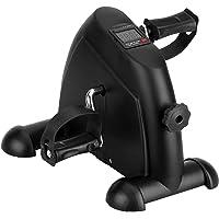 AGM Mini Pedal de Ejercicio Estaticos para Bicicleta de Ejercicio para Brazos y Piernas con Pantalla LCD y Resistencia…