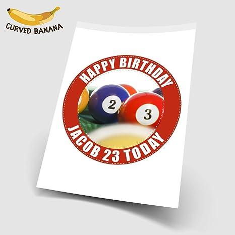 Bolas de billar personalizadas de 7.5 pulgadas de alta resolución ...