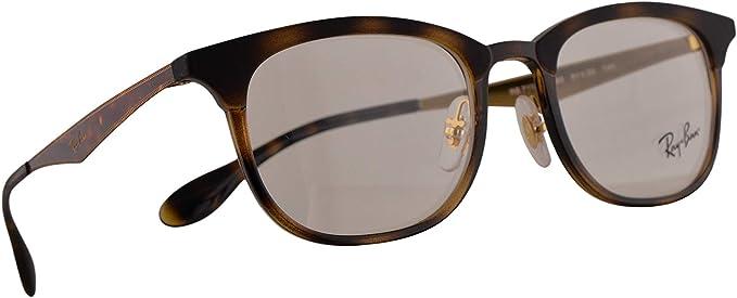 Ray-Ban RB 7112 Gafas 51-20-140 Havana Marrónes Con Lentes De Muestra 5683 RX RX7112 RB7112: Amazon.es: Ropa y accesorios